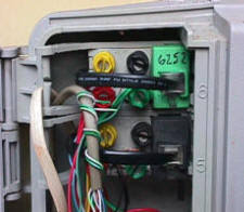 telelphone wiring problems and troubleshooting for the homeowner telephone network interface closeup