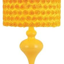 one light yellow table lamp contemporary table lamps