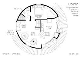 floor plans multi level dome home designs monolithic dome institute 2 Story Open House Plans floor plan dl 3210 2 story open floor house plans