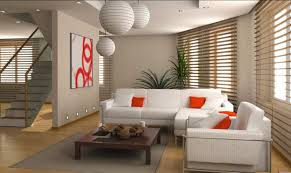 Living Room Creative Living Room Brown Chairs Gray Sofa White Shelves Gray Recliners