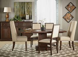 Dexter Dining Chair Rustic Java Setting 2