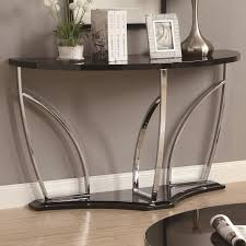 silver metal sofa table