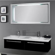 2 sink bathroom vanity. Iotti By Nameeks Fly FL2 Wall Mounted Double Sink Bathroom Vanity Set In Glossy Black, 2 M
