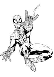 How to color spiderman coloring book spiderman coloring pages for kids bun sophat. Pin On Color Me