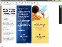 4 Sided Brochure Template Double Sided Brochure Template Luxury 4 Sided Brochure Template 4