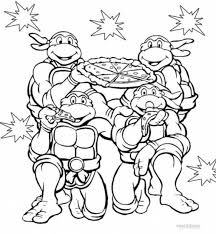 Small Picture Coloring Pages Turtle Coloring Page Tryonshorts Ninja Turtles