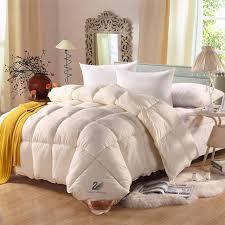 SongKAum High Quality Luxury Comforter Feather Quilt Spring Summer ... & SongKAum High Quality Luxury Comforter Feather Quilt Spring Summer White  Goose Down Quilt Bedding Filler/ Adamdwight.com