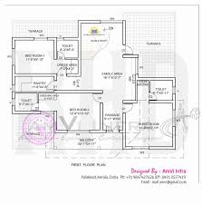 bedroom house elevation with floor plan | Indian House Plans