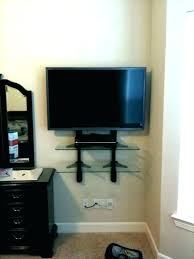 where to put cable box for wall mounted tv wall box on wall shelf where to