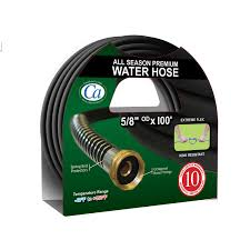 crisp air 5 8 x100 premium all season water hose image zoomed image