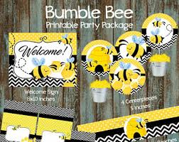 Bumblebee Baby Shower Ideas  Baby IdeasBumble Bee Baby Shower Party Favors
