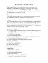 Retail Sales Associate Job Description For Resume Luxury Sample
