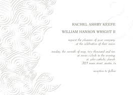 Invitations Cards Templates Wedding Invitation Card Template Wedding