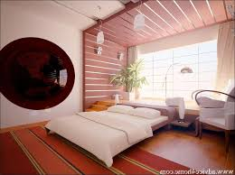 bedroom stripes grey and white cushion carved dark wood headboard unfinished cream wall painting floating