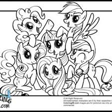 Coloring Pages My Little Pony Friendship Is Magic Coloring Pages Adult