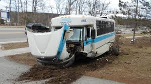 No Injuries Reported After Bus Hits Pickup Truck in Clare County ...