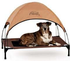 made to look like a tent and be just as functional it s hard to go wrong with this canopy dog bed especially if you and your dog love the outdoors