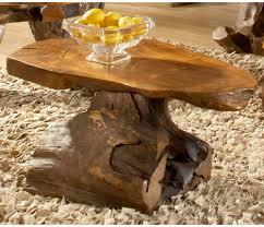groovystuff sierra teak wood slab coffee table hayneedle large imageby