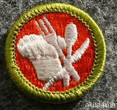 Cooking Merit Badge Bsa Cooking Merit Badge Type H Boy Scout 3 49 Picclick