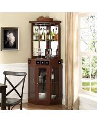 corner bar furniture. Fine Corner Corner Bar Cabinet Cherry On Furniture Better Homes And Gardens