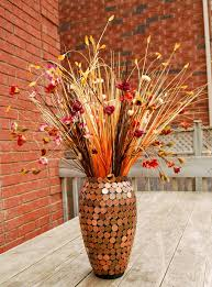 Top 10 DIY Vase Decorations (something to try with our 1 cent coins!