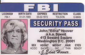 Card Id Edgar J License Collector Drivers Washington Dc