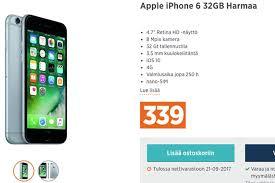 iphone 6 tarjous sonera