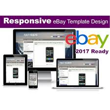 Listing Template Responsive Ebay Listing Template No Active Content 2017 Ready