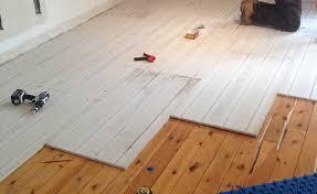 Lo Pro Underfloor Heating Installation Over Wooden Floor