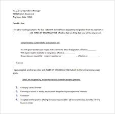 30 days notice of resignation letter sample word free download thirty day notice letter
