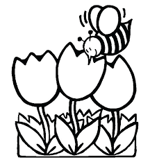 Printable Coloring Sheets For Spring Spring Coloring Pages Printable