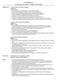 Net Application Developer Resume Samples Velvet Jobs