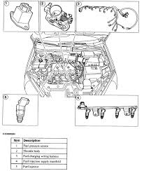 2000 ford focus connectors the intake manifold rebuilt hoses graphic