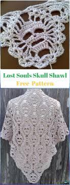 Skull Crochet Pattern Best Halloween Crochet Skull Ideas Free Patterns Instructions
