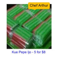 Arthur | Kue Pepe Ijo | Warung PSI