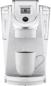Use a toothbrush and baking soda to. Keurig K200 Single Serve K Cup Pod Coffee Maker White 20292 Best Buy