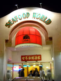 Shark Fin Souping it at: Seafood World ...
