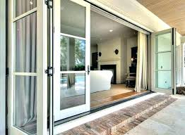 cost to install sliding glass door folding doors of exterior new installing french large s