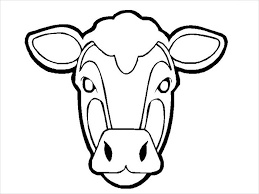 Small Cow Mask Template face mask templates sample customer service resume on create my own template in powerpoint