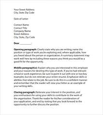 sample professional cover letter format template professional covering letter