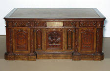 oval office resolute desk. 6ft natural burl mahogany presidential oval office resolute desk so f120059 d