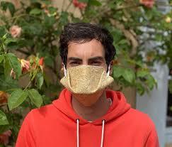 the geochanvre mask is a bio-compostable mask in natural hemp fibers