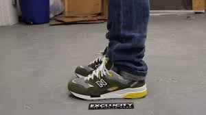 new balance 1600. new balance 1600 elite on-feet video at both exclucity locations - youtube