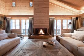 Swiss Chalet Decor Alpine Living Interior Design Ski Chalet French Alps Luxury