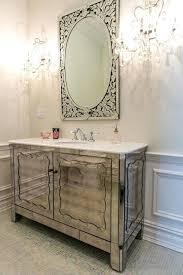 art deco bathroom furniture. Art Deco Bathroom Vanity Powder Room With Mirror Inch Mirrored Imperial White Marble Furniture