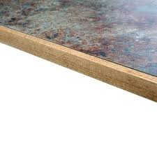 Laminate Overlay and Wood Edge Table Top