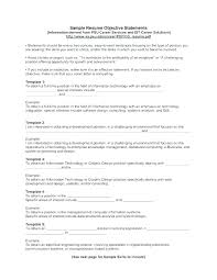 Sample Resume Objective Statements For Customer Service Resume Job Objective Sample Resume Career Objective Example