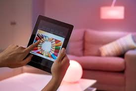 personal wireless lighting hue by philips and its new competitors samsung and lg