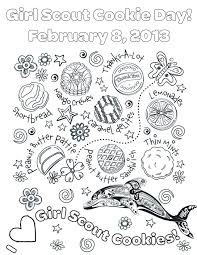 Girl Scout Coloring Pages Printable Dapmalaysiainfo