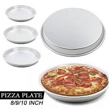 Khay Nướng Bánh Pizza 5-10 Inch Khay Nhôm Nướng Bánh Không Dính Sâu Tròn  Cho Lò Nướng Dụng Cụ Làm Bánh Cho Nhà Bếp